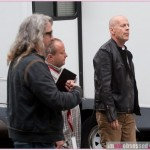 a Ggood day to die hard filming 070512