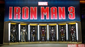 Iron Man 3 Hall of Armors